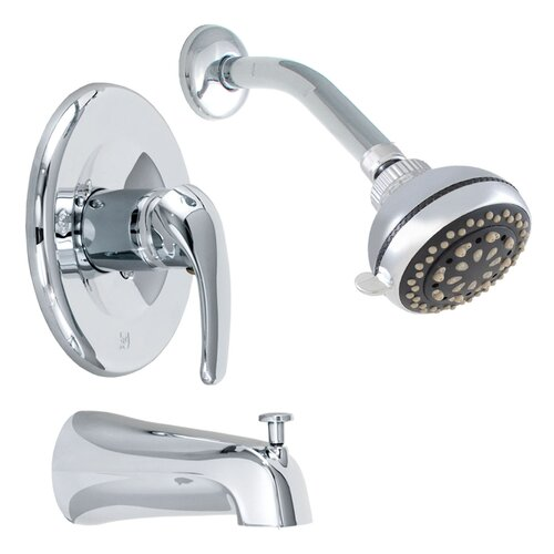 LDR Exquisite Tub and Shower Faucet