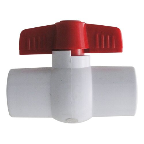 "LDR 1.5"" PVC Ball Valves Non-Threaded"