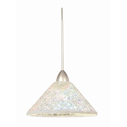"WAC Lighting 7.5"" Artisan Glass Pendant Shade"