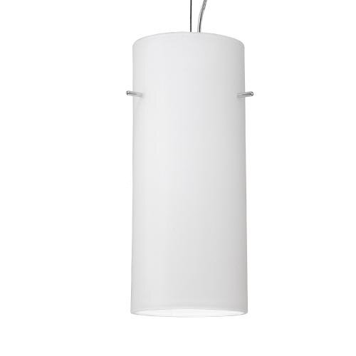 Contemporary Cylindrical 1 Light Pendant