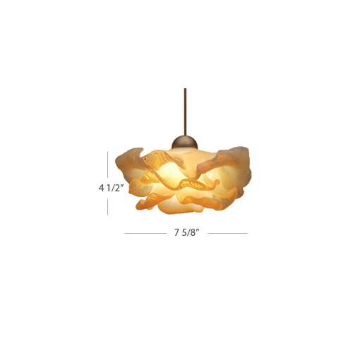 European 1 Light Brittany Pendant with LED303 Socket Sets