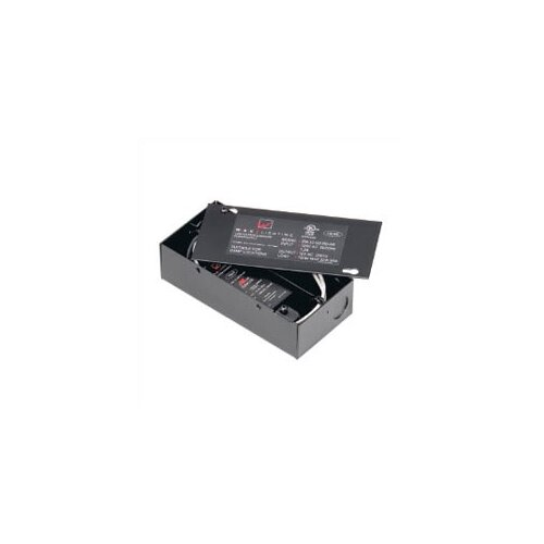 WAC Lighting 12V Remote Electronic Transformer in Black