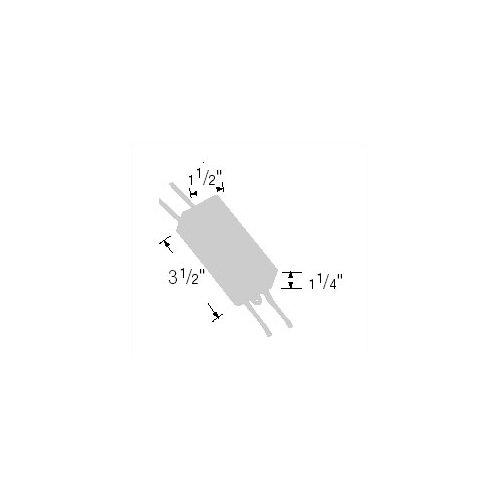 WAC Lighting 150W 24V Remote Electronic Transformer in Black