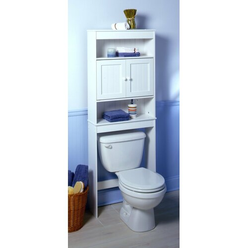 Zenith x 66 5 over the toilet cabinet i reviews for Zenith bathroom cabinets