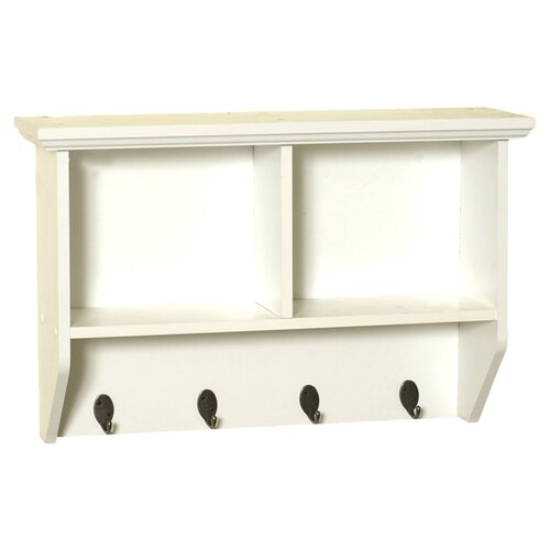 Zenith Wall Shelf With Hooks & Reviews