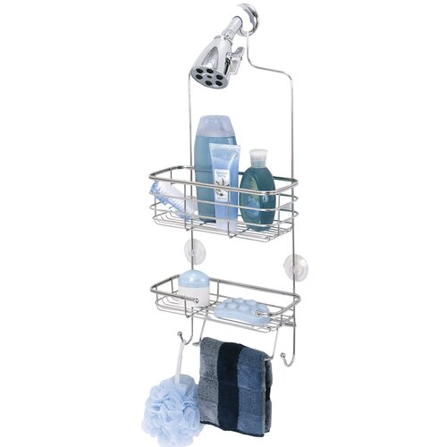 Zenith Premium Shower Caddy In Polished Stainless Steel Reviews Wayfair