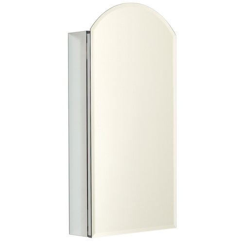 "Zenith Products 15"" x 30"" Beveled Edge Medicine Cabinet"