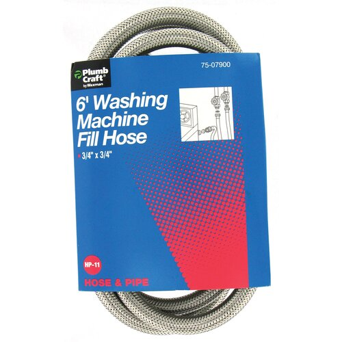 Plumb Craft 6' Washing Machine Fill Hose