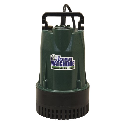 Basement Watchdog Submersible Sump Pump & Reviews