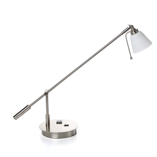 "George Kovacs by Minka George's 21.5"" H Reading Room Table Lamp"