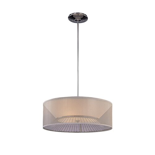 George Kovacs by Minka Bridge 3 Light Chandelier