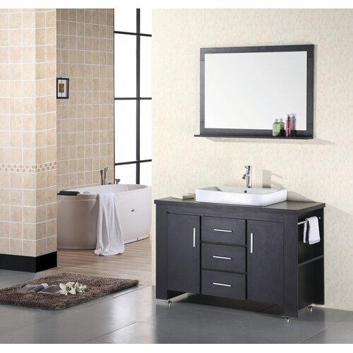 "Design Element Washington 48"" Single Sink Vanity Set"