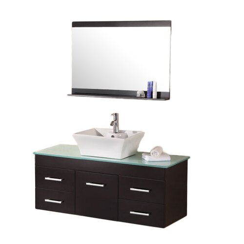 "Design Element Madrid 48"" Vanity Set with Single Sink"