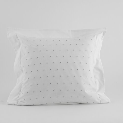 Traditions Linens Swiss Dot Flanged Pillow