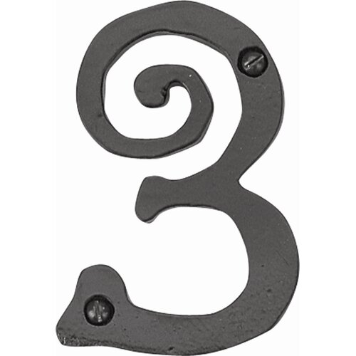"Atlas Homewares Scroll 5.5"" Large House Number"