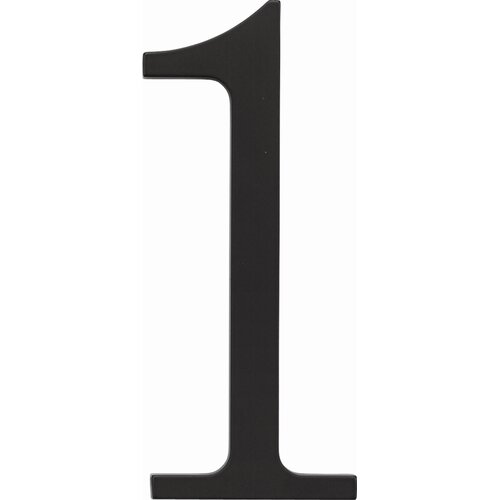 "Atlas Homewares Traditionalist 6"" House Number"