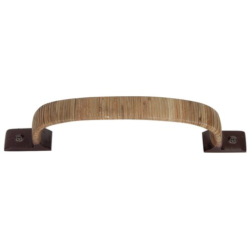 """Atlas Homewares Hamptons Bamboo Wrapped 5.25"""" Arch Pull"""