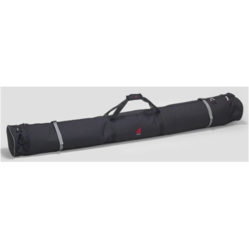 Expanding Padded Double Ski Bag in Black