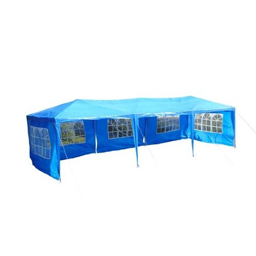 Outsunny 8.2' H x 10' W x 30' D Gazebo Canopy Party Tent
