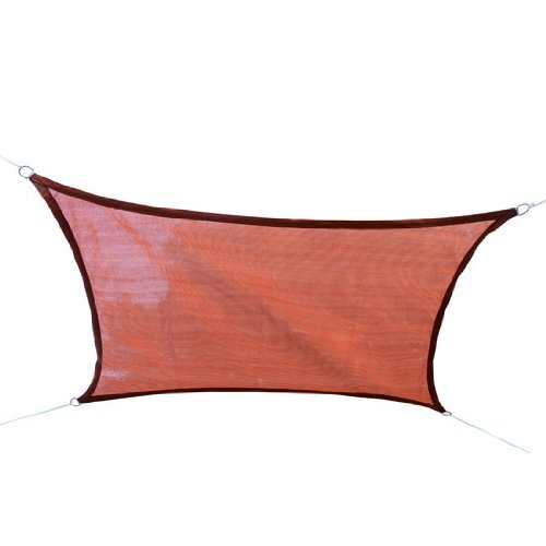 Outsunny 16' H x 16' W Shade Sail Canopy