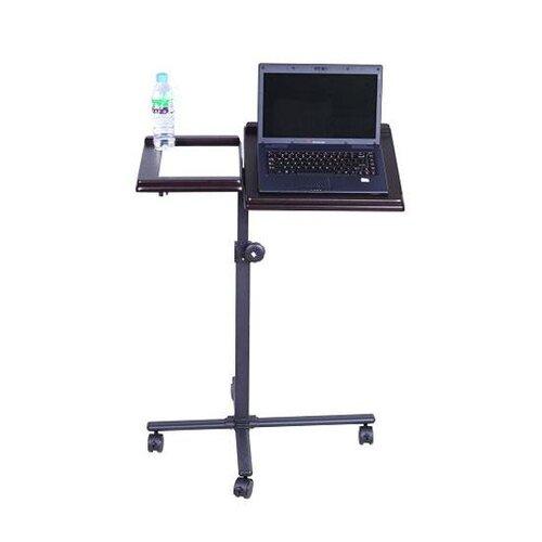 Aosom LLC HomCom Adjustable Deluxe Laptop Cart