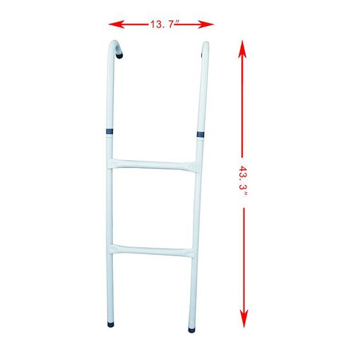 "Aosom LLC 43.3"" Trampoline Ladder"