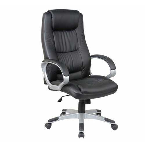 Aosom LLC High-Back Leather Synthetic Executive Chair