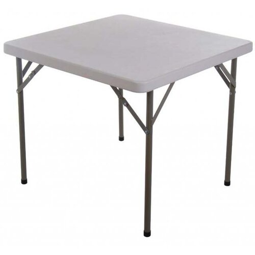 "Aosom LLC HomCom 34"" Square Folding Table"