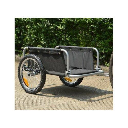 Aosom LLC Traveler Flatbed Cargo / Luggage Bike Trailer