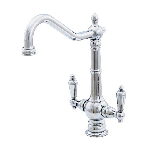 Water Creation F3-0002 Single Hole Elegant Spout Bathroom Faucet