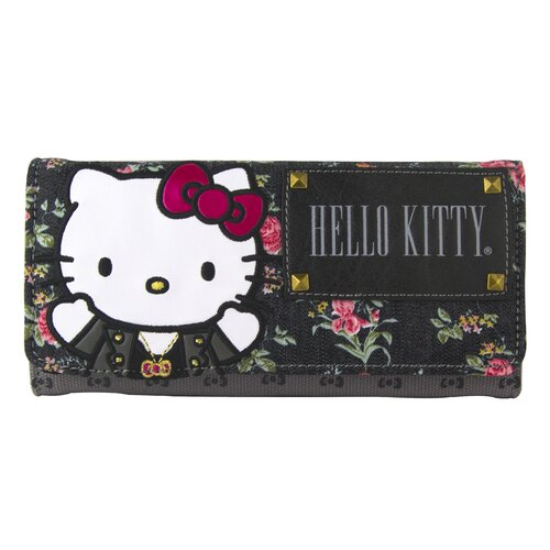 Hello Kitty Floral Wallet