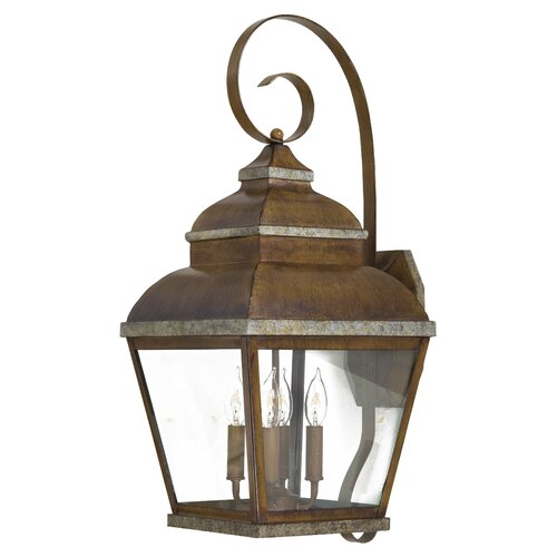 Great Outdoors by Minka Mossoro Outdoor Wall Lantern