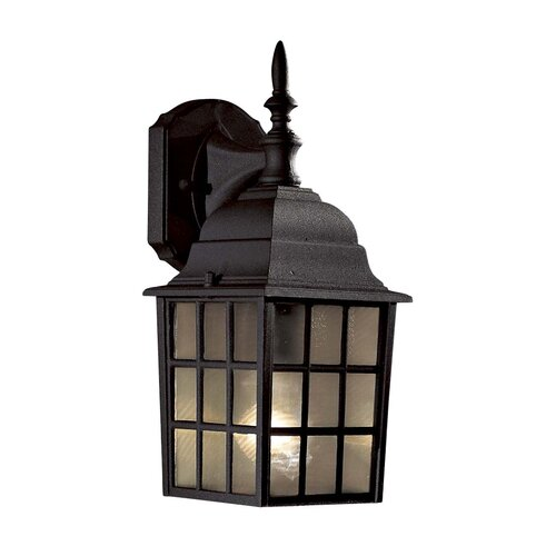 Great Outdoors by Minka Bridgeport Outdoor Wall Lantern