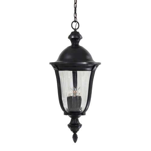 Great Outdoors by Minka Morgan Park 5 Light Outdoor Chain Hanging