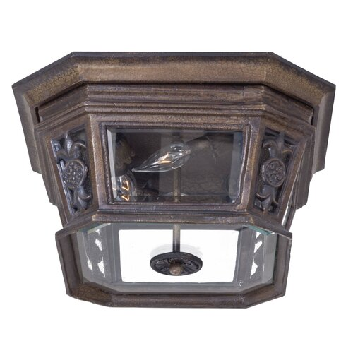 Great Outdoors by Minka Buckingham Outdoor Flush Mount Lantern