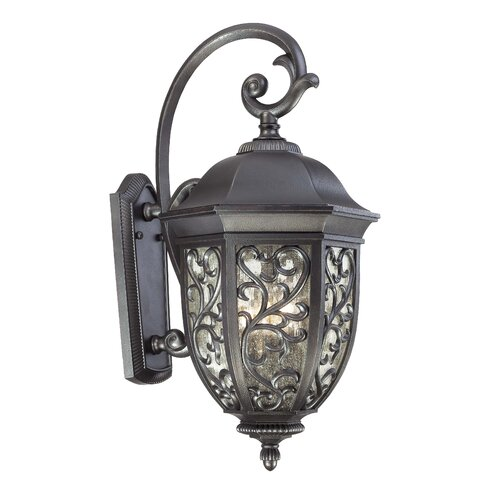 Great Outdoors by Minka Allendale Park 3 Light Outdoor Wall Lantern