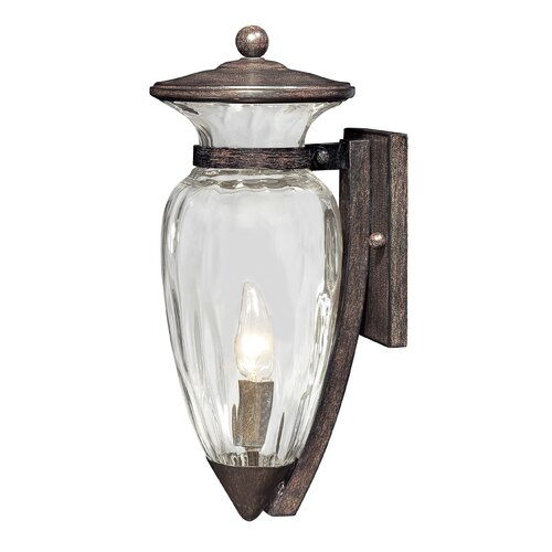 Great Outdoors by Minka Tuscan Way 1 Light Outdoor Wall Lantern