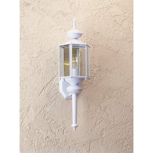 Great Outdoors by Minka Contractor Series 1 Light Outdoor Wall Lantern