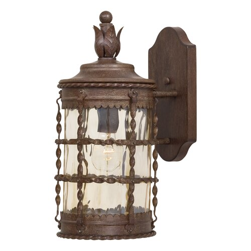 Great Outdoors by Minka Mallorca 1 Light Outdoor Wall Lantern
