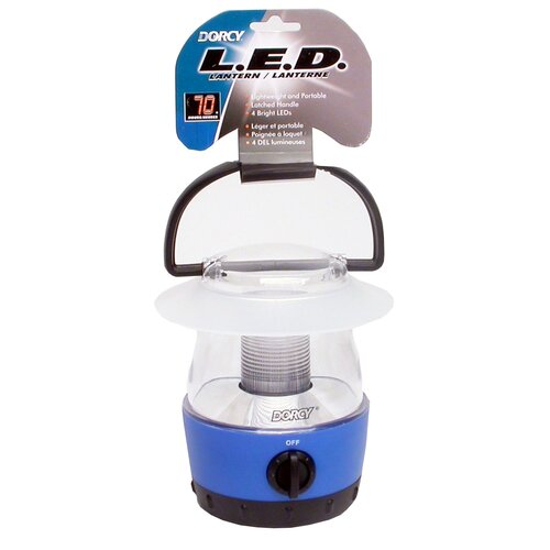 Dorcy 4AA - 4 LED Mini Lantern