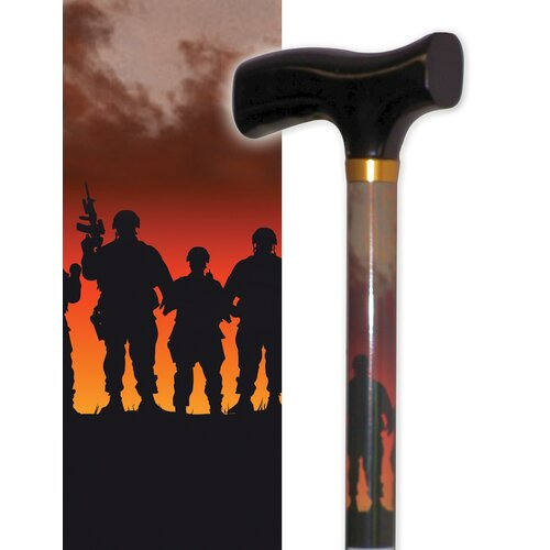 Rebel Canes Band of Brothers Single Point Cane