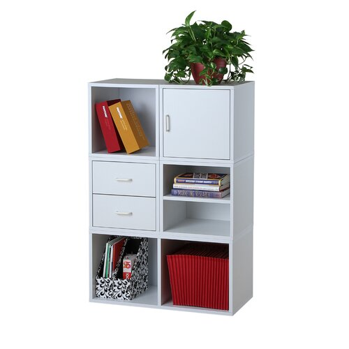 Foremost Modular Storage Five in One System in White