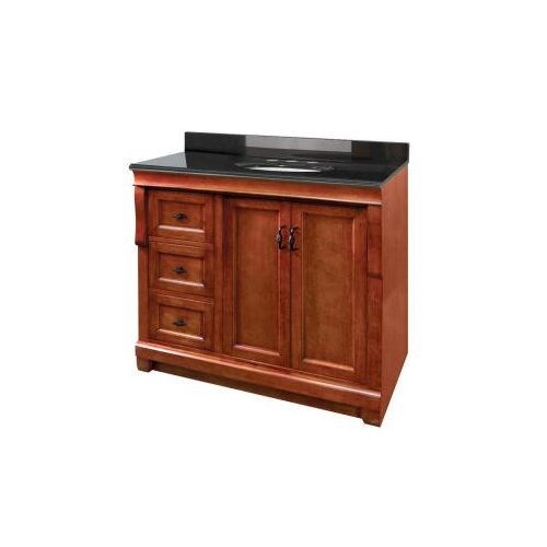 Naples 36 bathroom vanity base with left drawers cabinet only wayfair - Bathroom vanity cabinet base only ...
