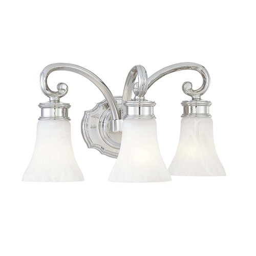 Metropolitan by Minka 3 Light Bath Vanity Light