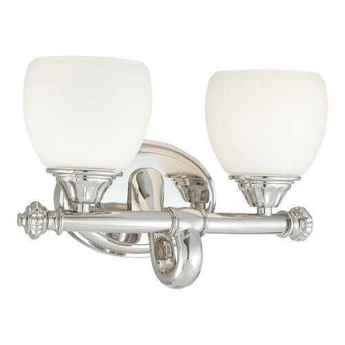 Metropolitan by Minka 2 Light Bath Vanity Light