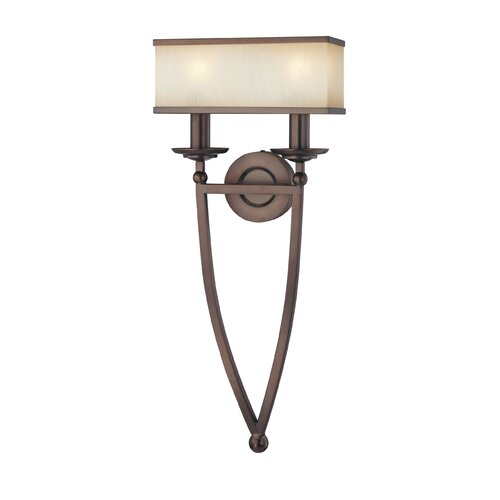 Metropolitan by Minka Walt Disney Signature Underscore 2 Light Wall Sconce