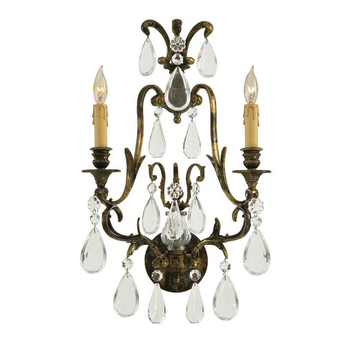 Metropolitan by Minka Metropolitan 2 Light Wall Sconce