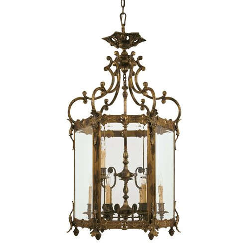 Metropolitan by Minka 9 Light Foyer Pendant