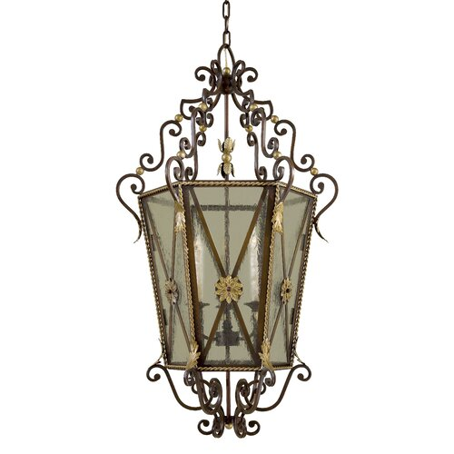 Metropolitan by Minka 3 Light Foyer Pendant