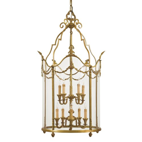 Metropolitan by Minka 10 Light Foyer Pendant